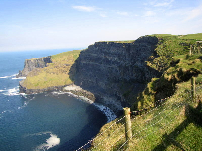 The Cliffs of Moher are a popular and stunning destination in Ireland.
