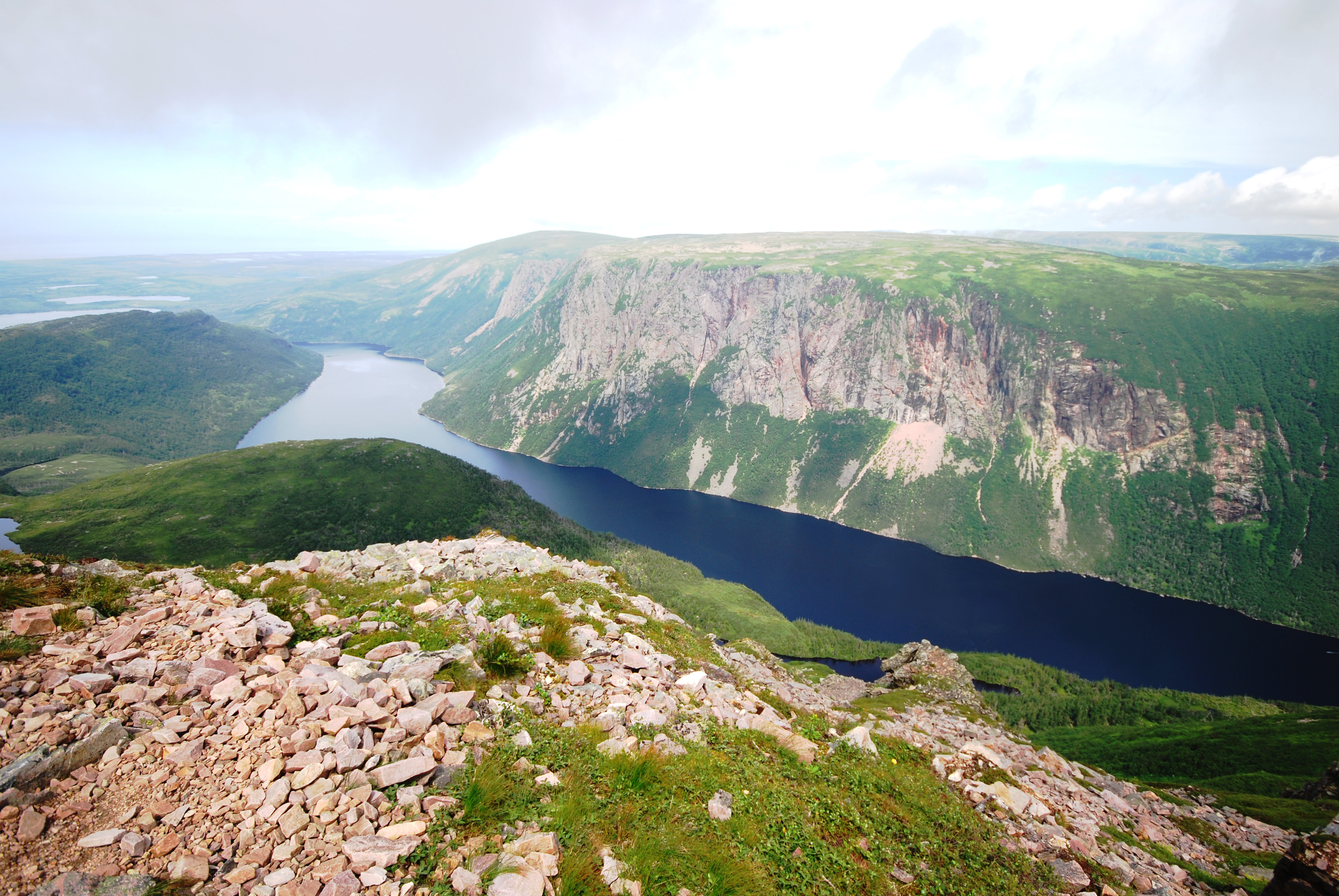 Gros Morne National Park is a Newfoundland treasure. Try a boat ride along the fjord-like channels or hike the mountains for stupendous views. PARKS CANADA PHOTO