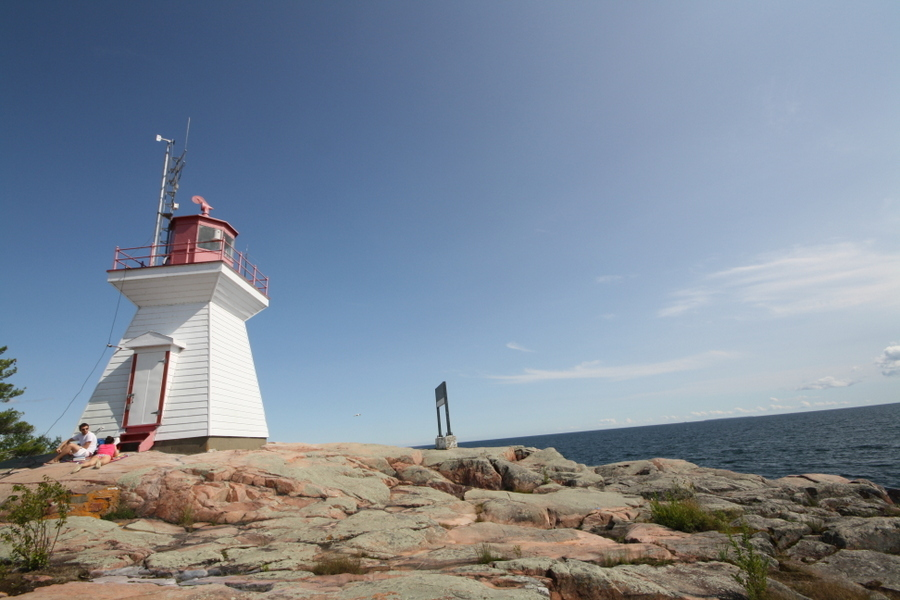 You'll find a cool lighthouse on the channel south of the town of Killarney. JIM BYERS PHOTO