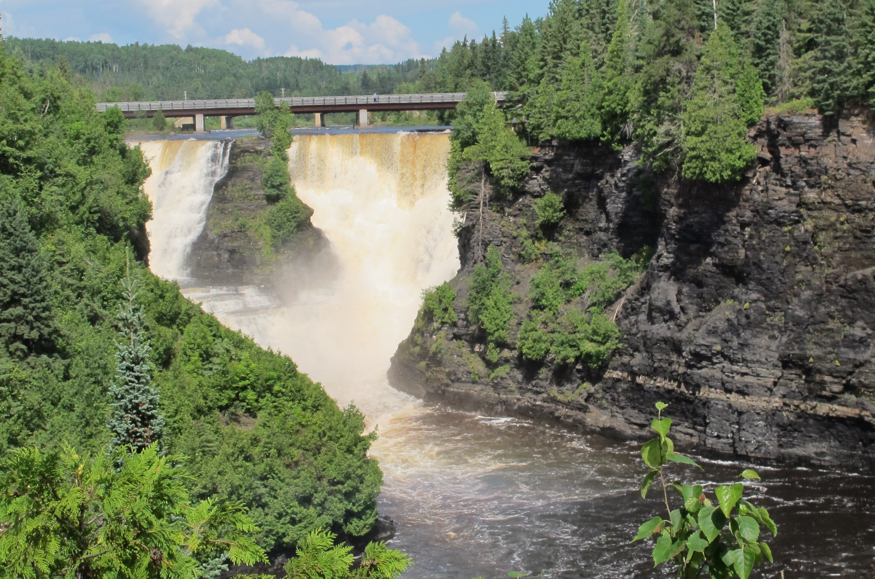 Kakabeka Falls are the second highest in Ontario and make a mighty impressive sight. JIM BYERS PHOTO