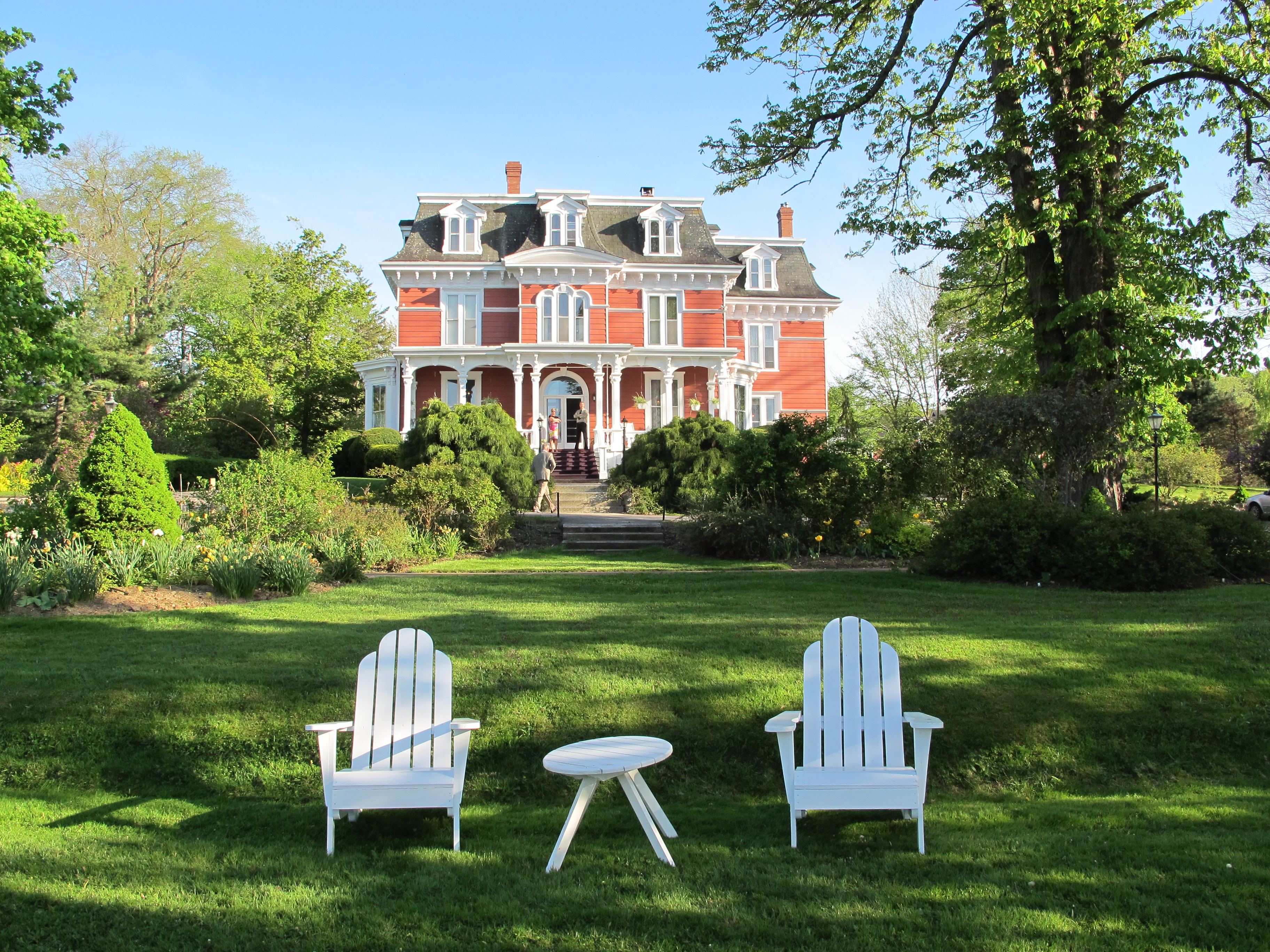 The Blomidon Inn is a wonderful spot in Wolfville, with fabulous breakfasts and a great porch. JIM BYERS PHOTO