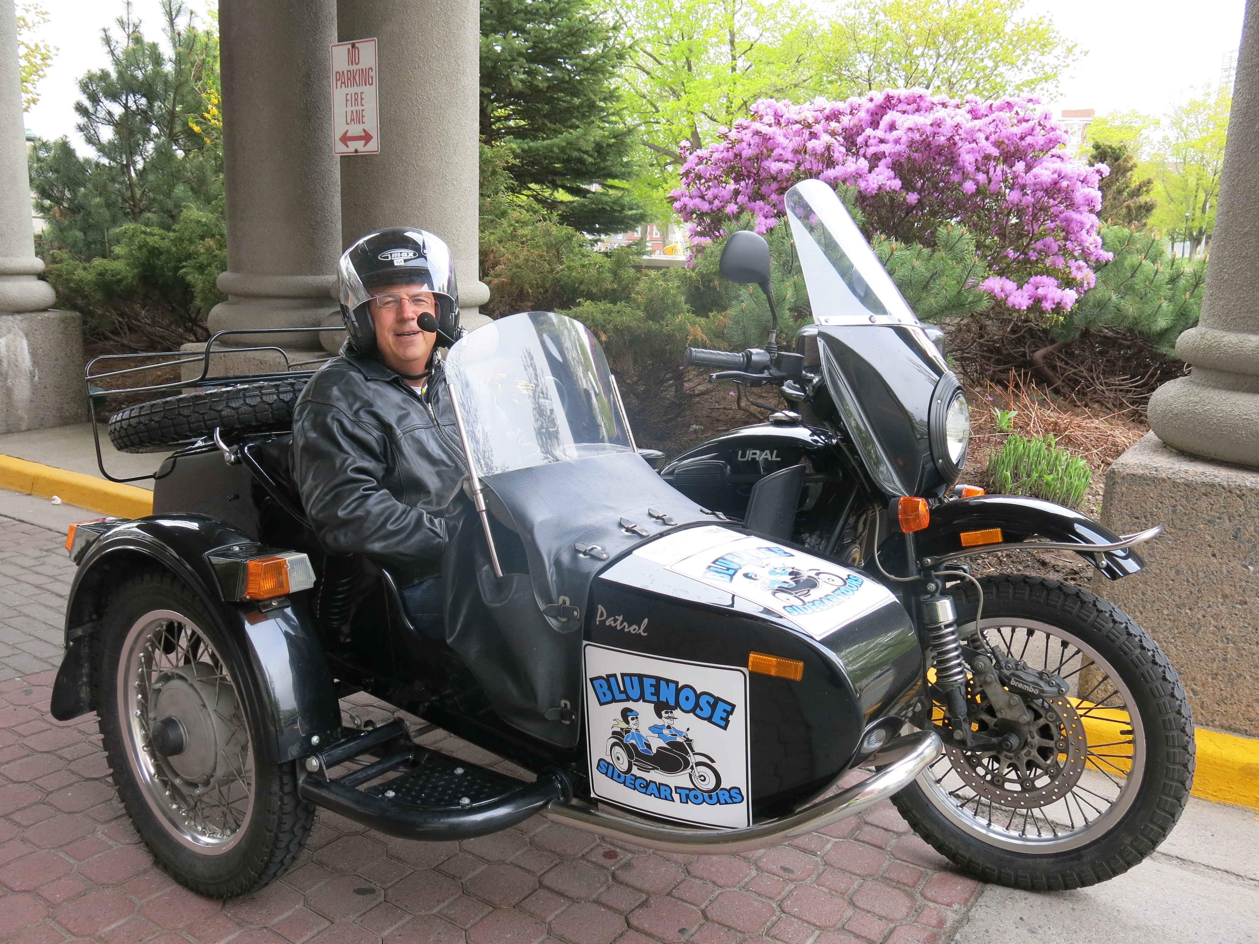 Take a tour of Halifax or Peggy's Cove in a motorcycle sidecar for something different. JIM BYERS PHOTO