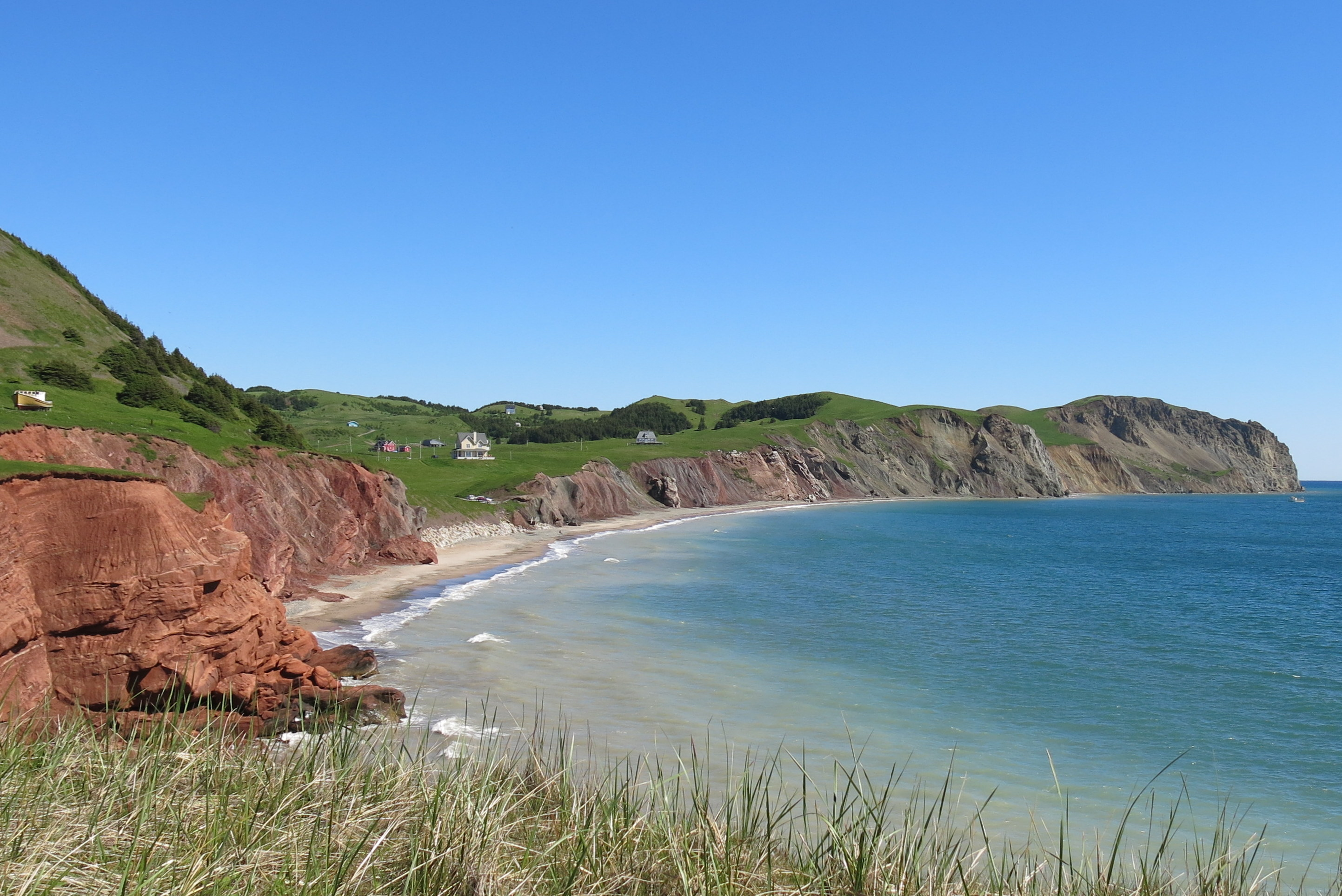 Les Iles-de-la-Madeleine are a stunning set of islands in the province of Quebec.