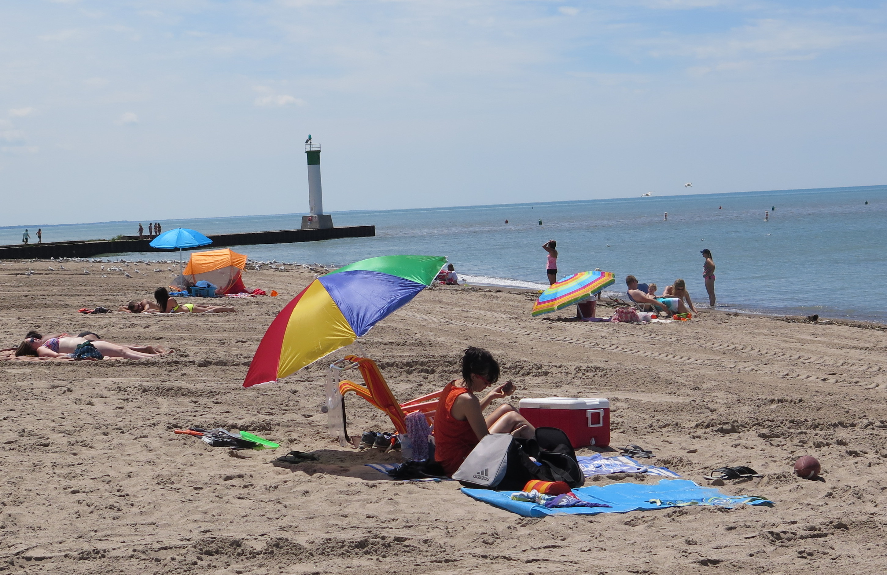 Grand Bend has one of Ontario's top beaches.