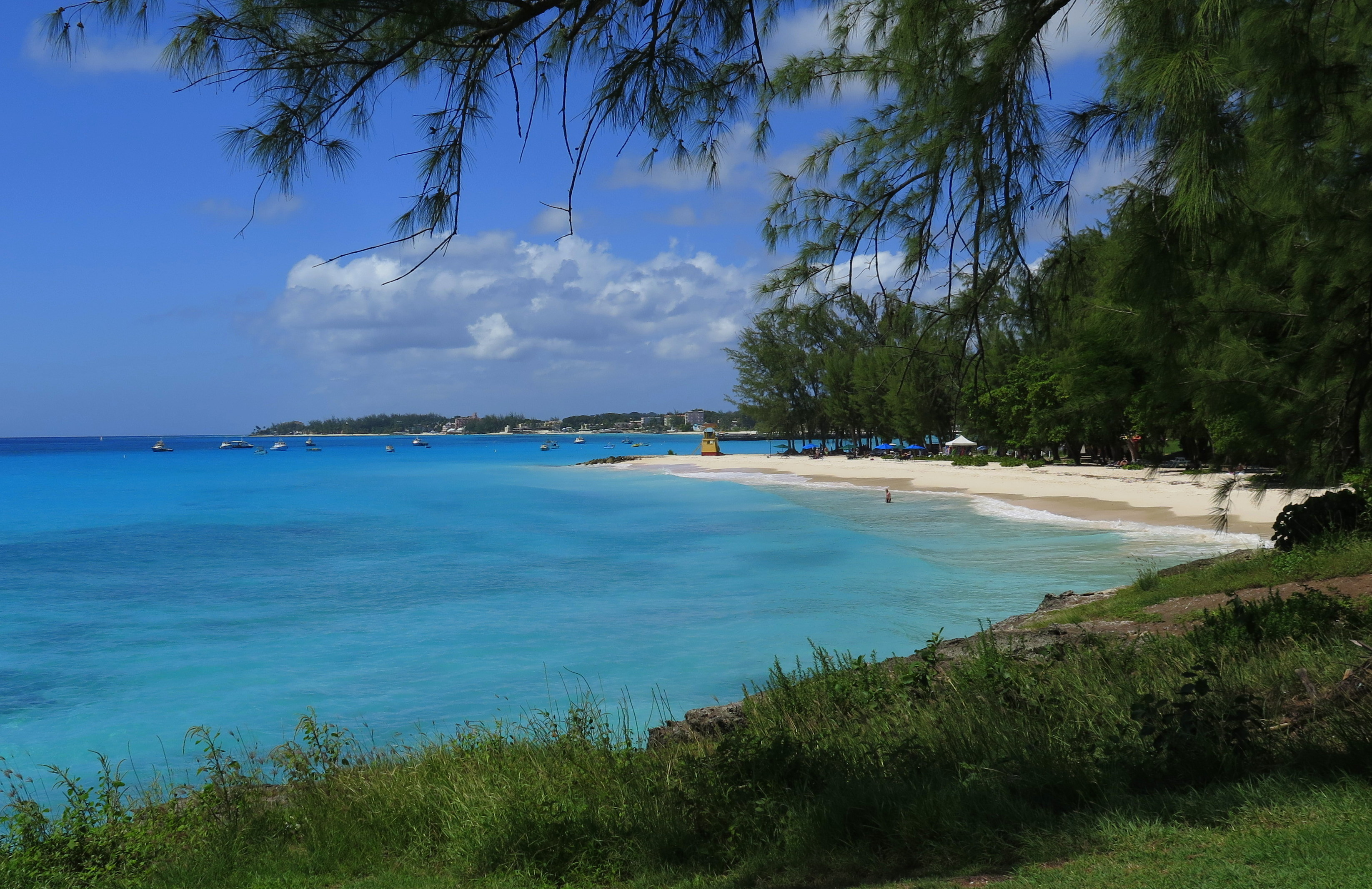 Miami Beach is one of the prettiest in Barbados. - JIM BYERS PHOTO