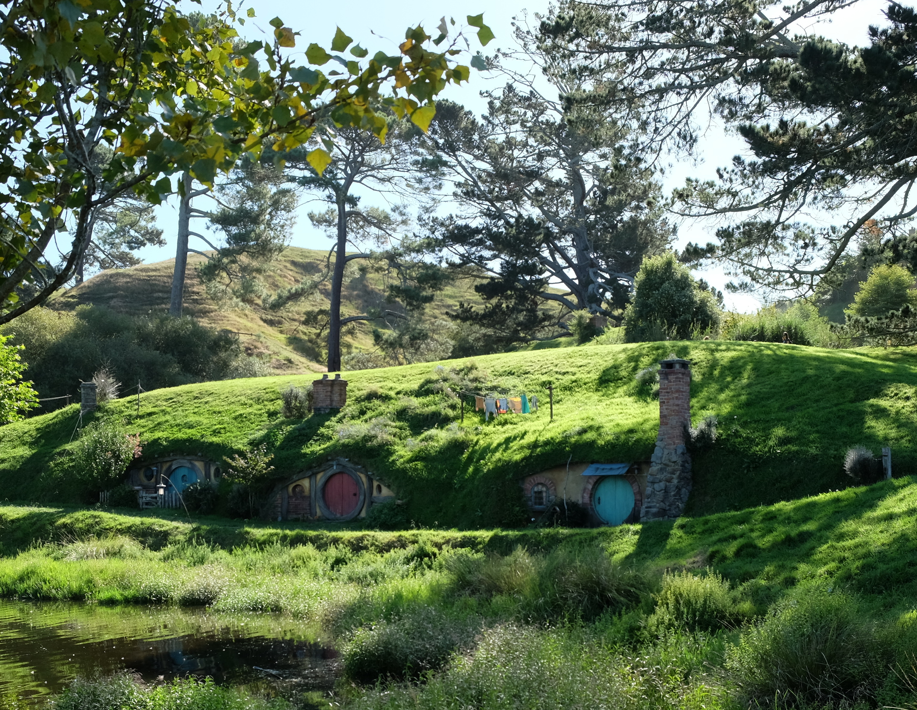 The grounds at the Hobbiton Movie Set are beautiful, even if you don't care about the movies. - JIM BYERS PHOTO