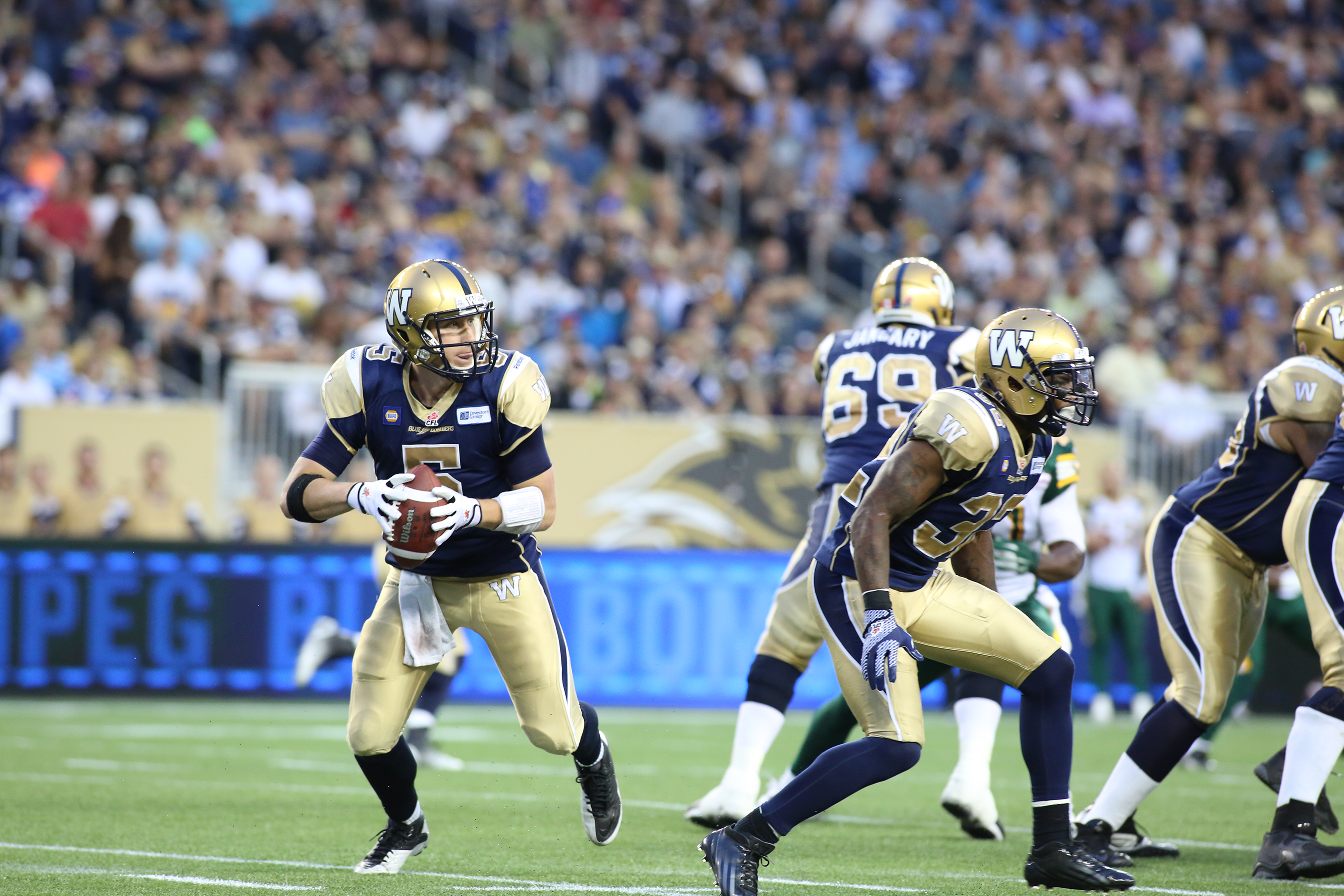 The Blue Bombers and the CFL will be back in action this summer. PHOTO COURTESY TOURISM WINNIPEG