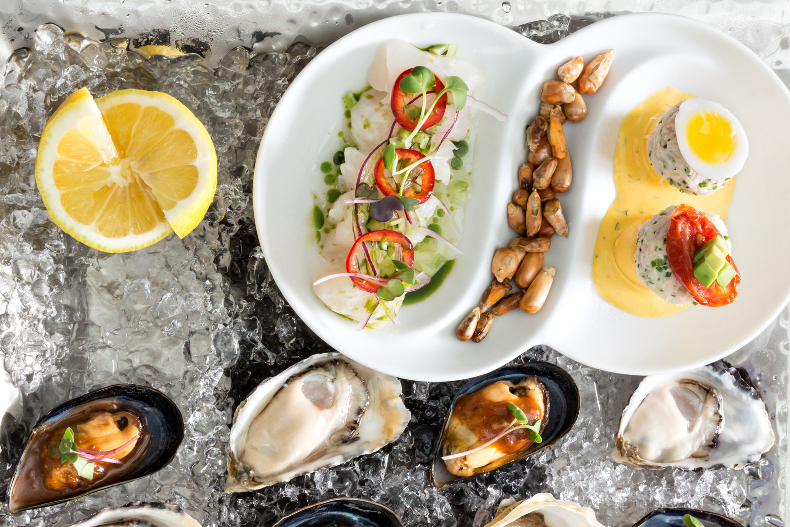 Ancora Dining features fantastically fresh seafood and great views of False Creek in Vancouver. PHOTO COURTESY ANCORA DINING