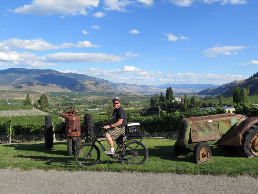 Tour the Oliver and Osoyoos areas with Heatstroke Cycle for a great visit to to the southern Okanagan. JIM BYERS PHOTO