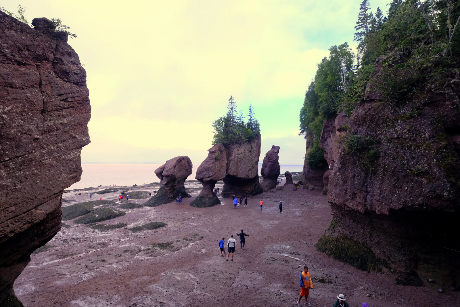 Hopewell Rocks is a wonderful attraction in New Brunswick. JIM BYERS PHOTO
