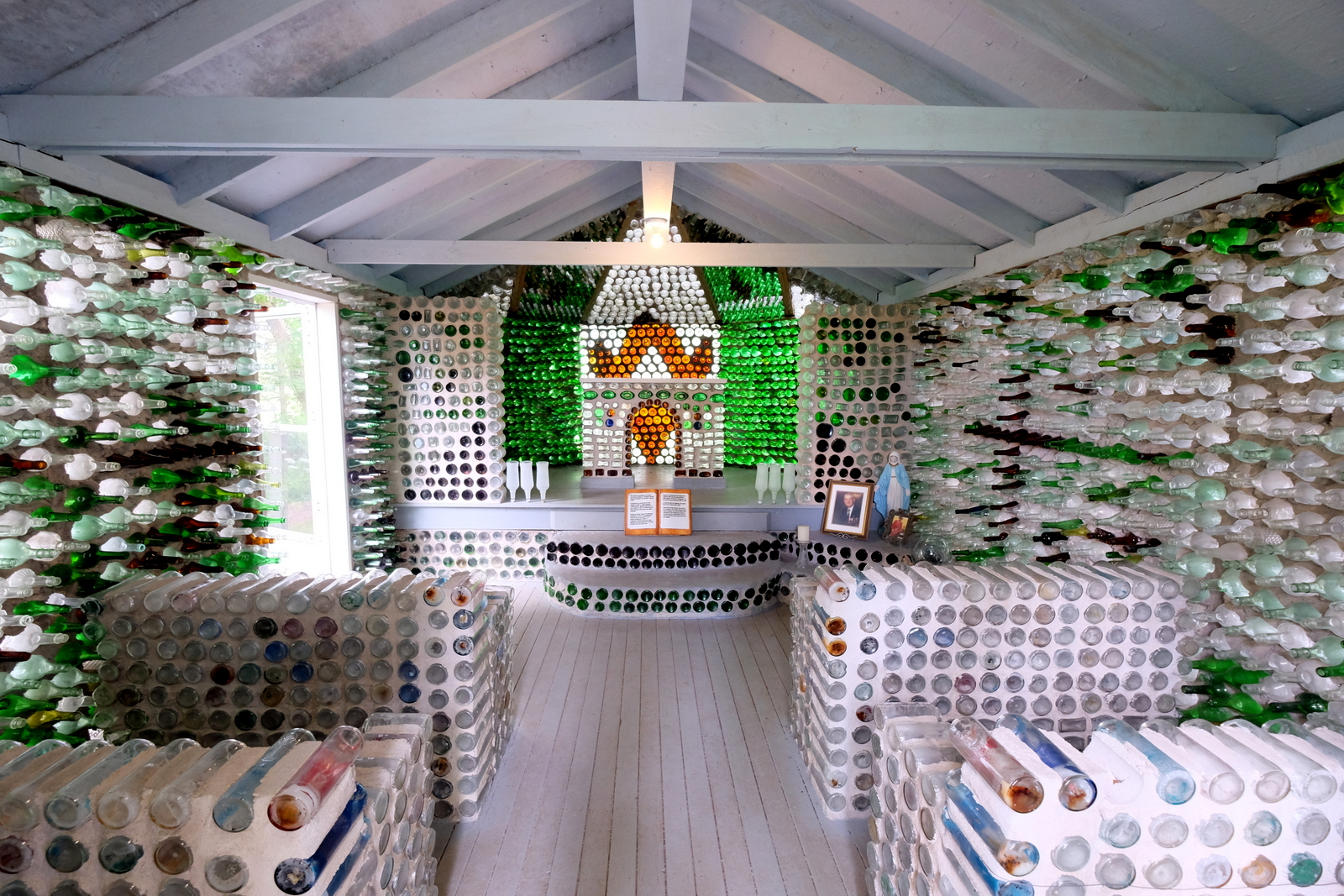 The chapel at the Bottle Houses at Cap Egmont, PEI. - JIM BYERS PHOTO