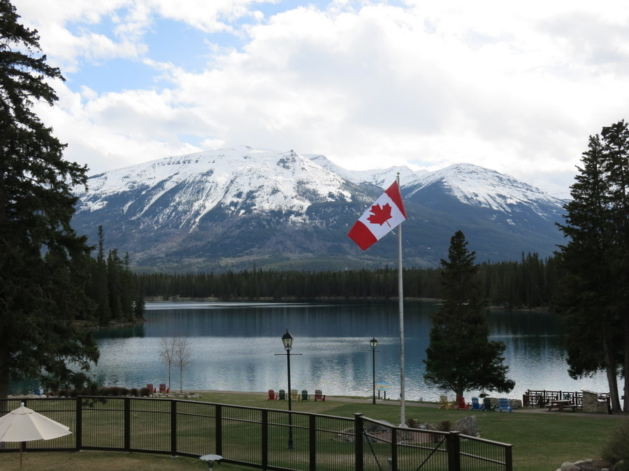 Check out the view from the Fairmont Jasper Park Lodge in Alberta. JIM BYERS PHOTO