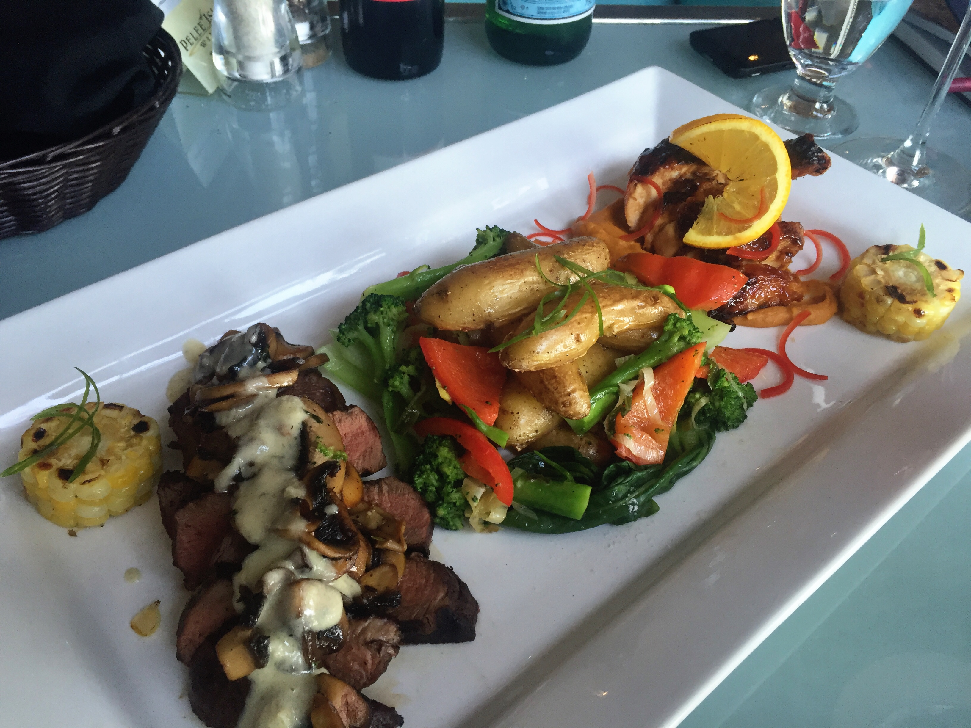 Fabulous steak, fresh produce and excellent chicken can be found on the menu at The Chilled Cork, located at the Retro Suites hotel in Chatham. JIM BYERS PHOTO