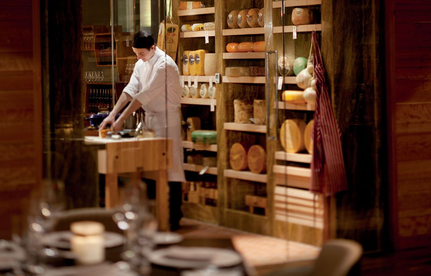 The cheese cave at TOCA is a temple for foodies.