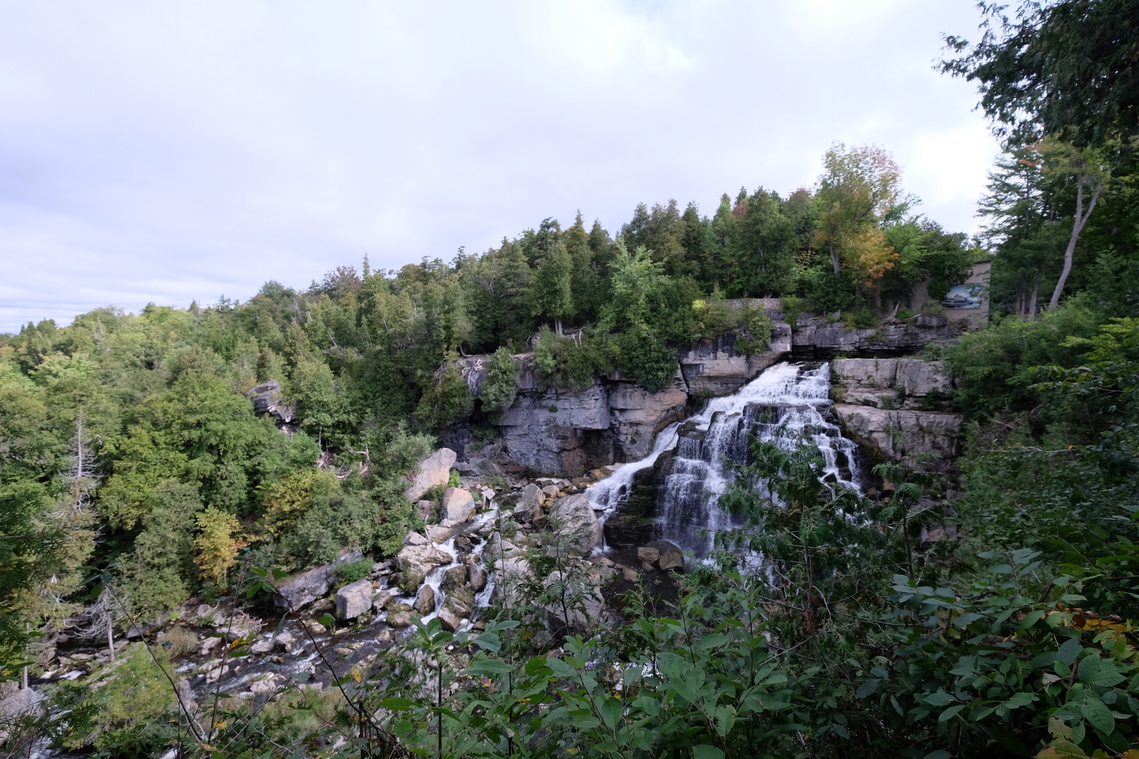 Inglis Falls is one of the prettiest waterfalls I've seen in Ontario. - JIM BYERS PHOTO