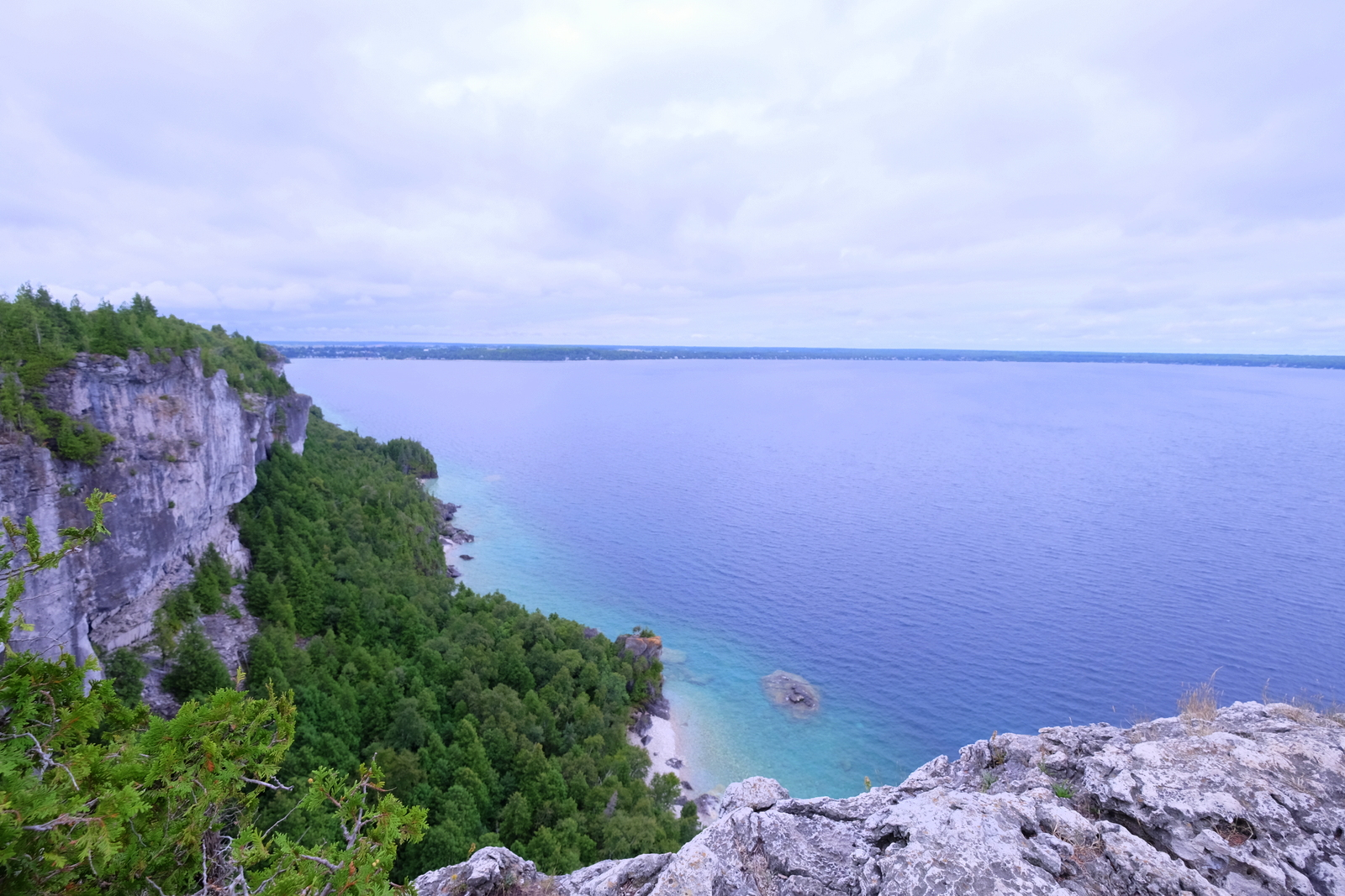 The view from the Lion's Head Lookout is one of the great sights of Ontario. JIM BYERS PHOTO