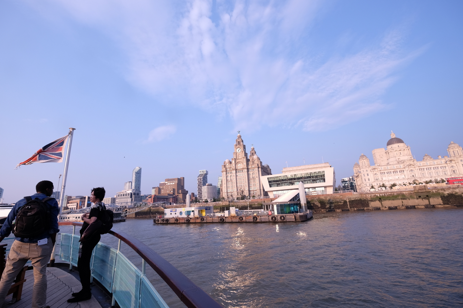 A ferry ride across the Mersey River is a great way to see Liverpool, or to act out a favourite song from your childhood. - JIM BYERS PHOTO