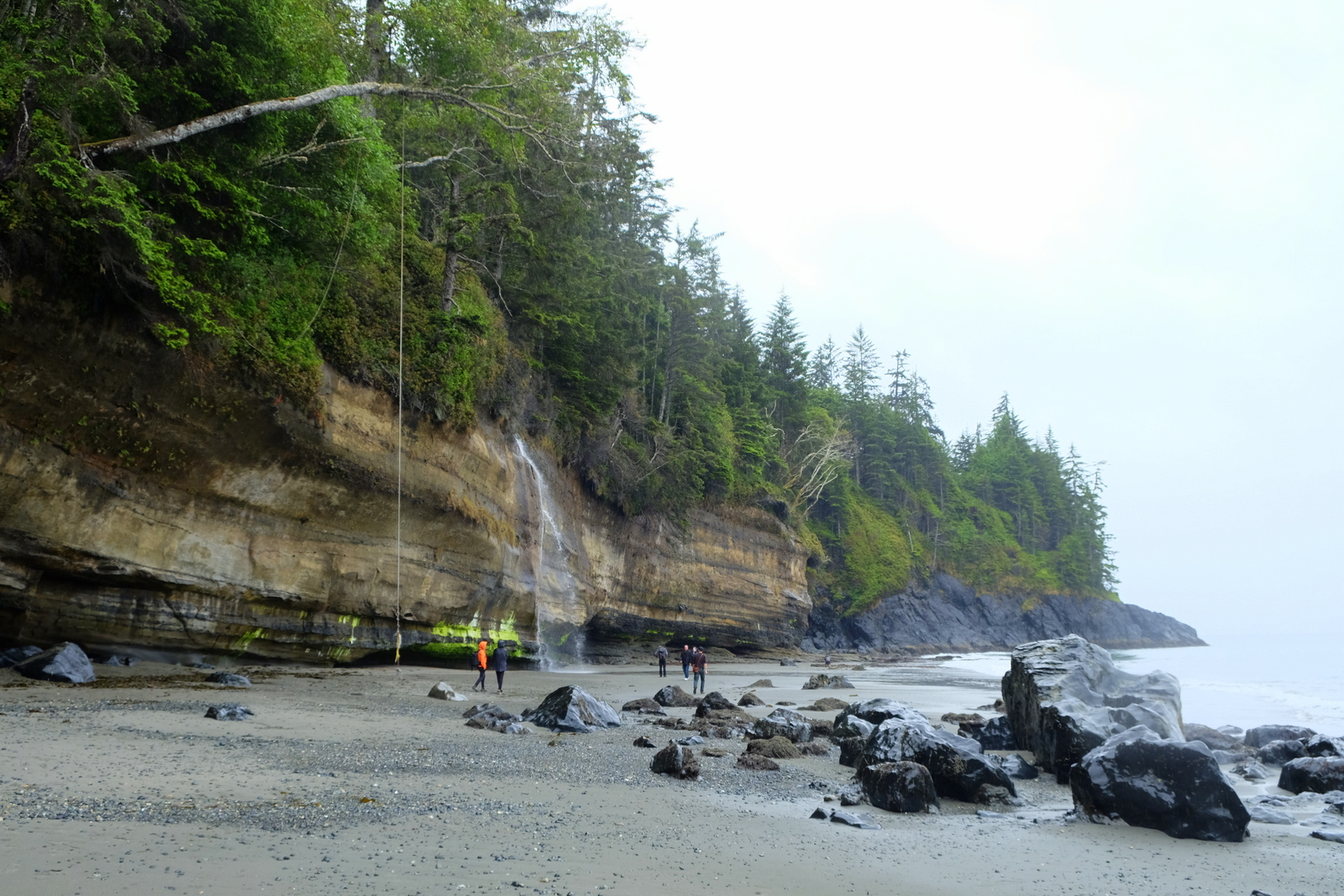Mystic Beach is a magical spot on Vancouver Island. - JIM BYERS PHOTO