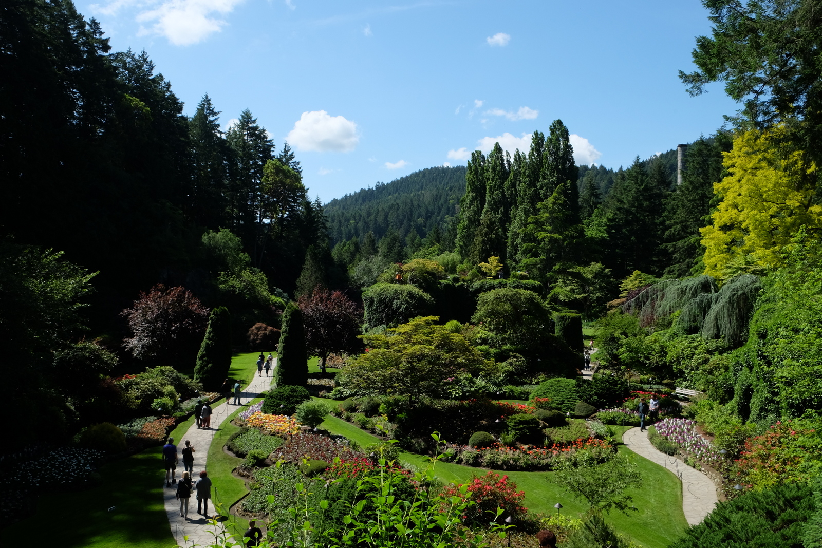 Victoria's Butchart Gardens is considered one of the best in the world. - JIM BYERS PHOTO