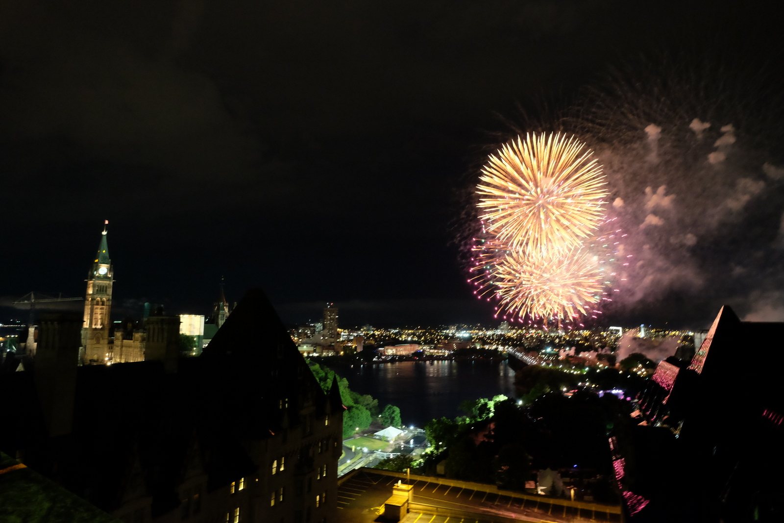 The Fairmont Chateau Laurier in Ottawa is a great spot to catch the Canada Day fireworks. - JIM BYERS PHOTO