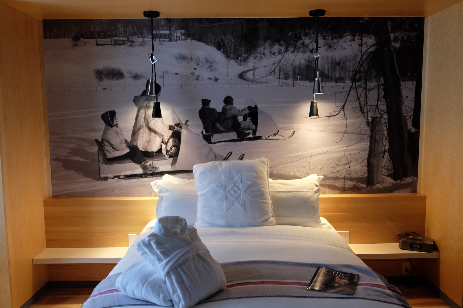 I love the design features at Hotel Le Germain Charlevoix in Quebec. - JIM BYERS PHOTO