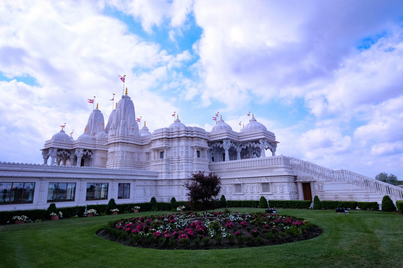 The BAPS Shri Swaminarayan  Mandir in northwest Toronto has a truly inspiring interior. - JIM BYERS PHOTO