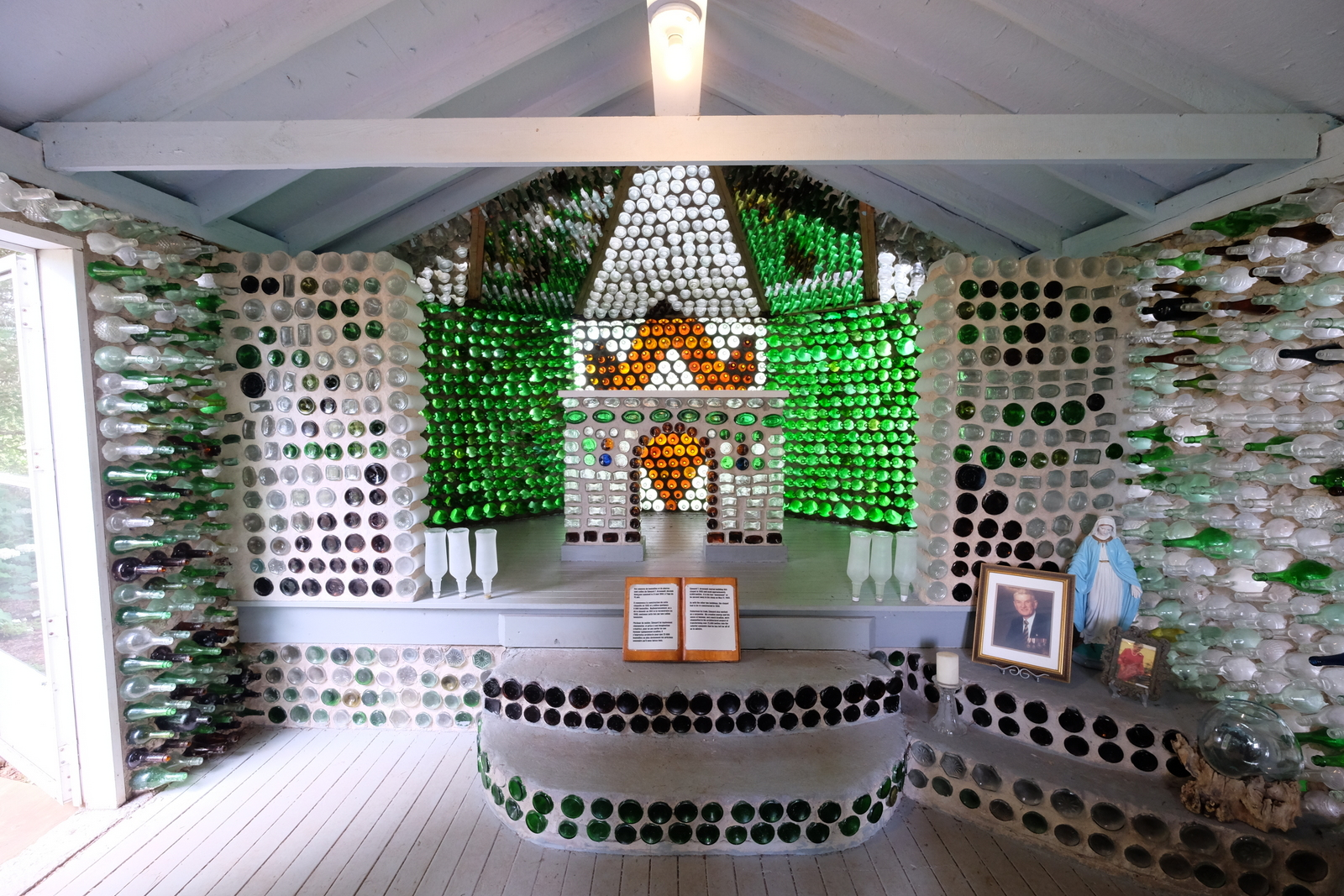 If Canadians are so normal, how do you explain houses made of bottles in Prince Edward Island? - JIM BYERS PHOTO
