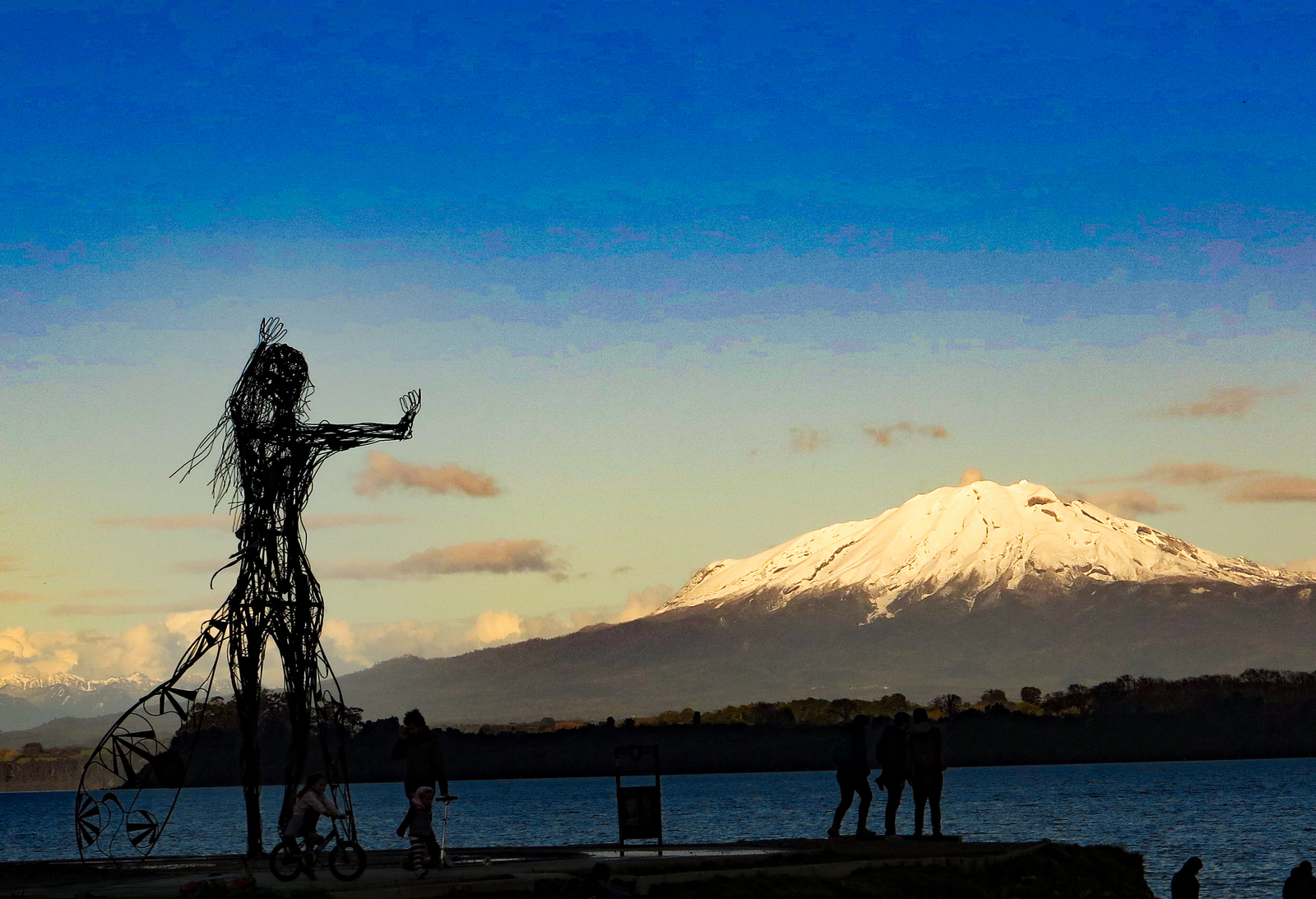 Puerto Varas is a lovely lakeside town inChile, with great nature all around. JIM BYERS PHOTO
