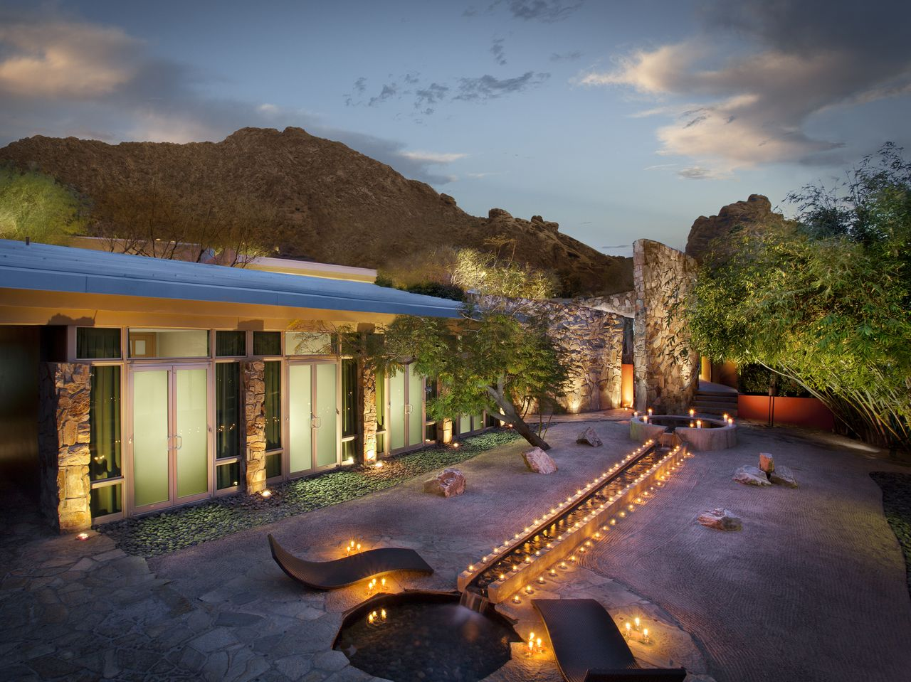 The spa at Sanctuary on Camelback.
