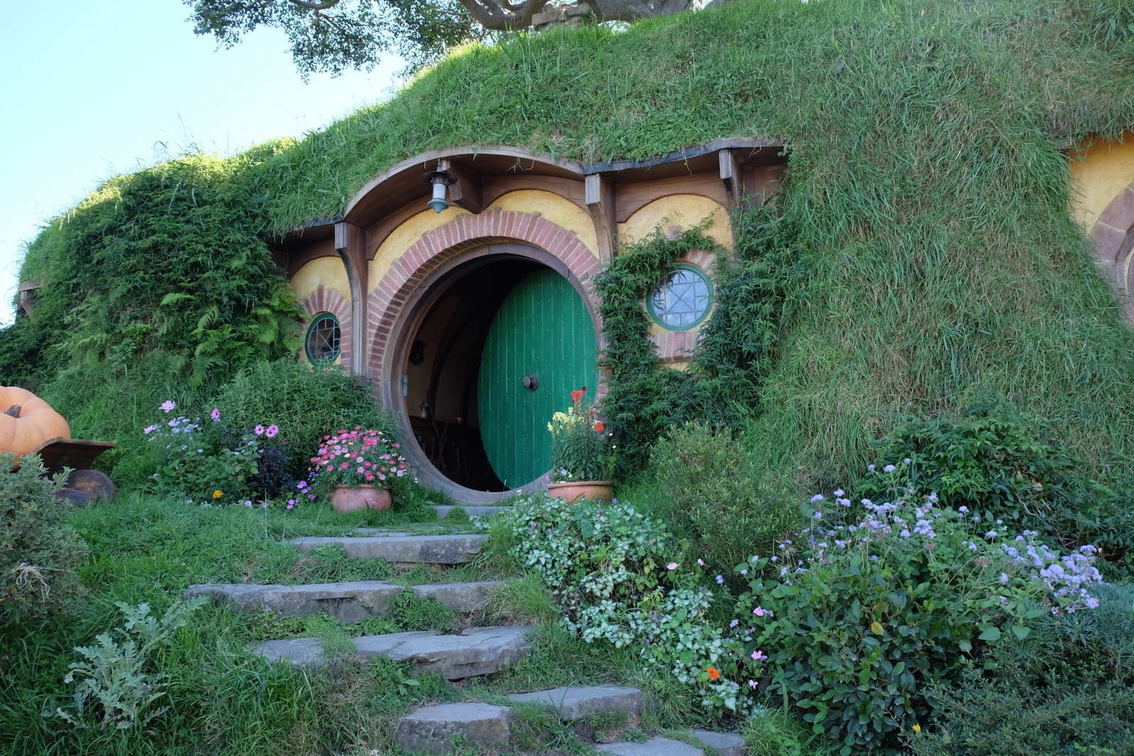 The Hobbiton Movie Set Tour is a fantastic attraction in New Zealand. - JIM BYERS PHOTO