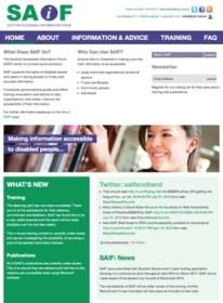 Scottish Accessible Information Forum Website
