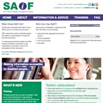 Scottish Accessible Information Forum Scottish Accessible Information Service (SAIF)