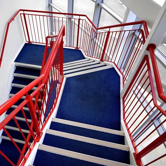 Complex stairway