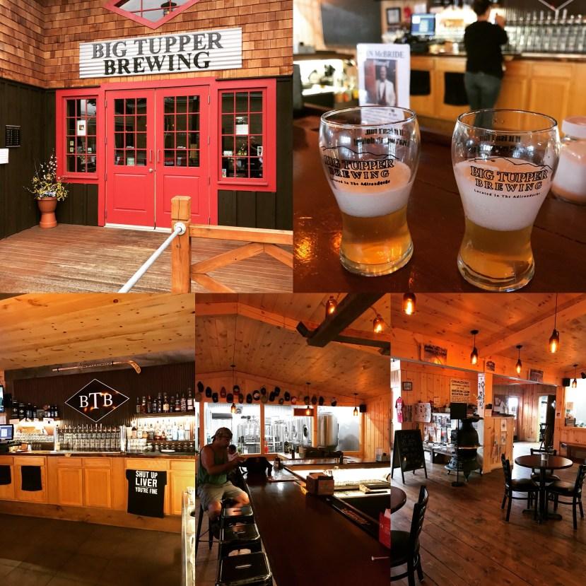 Big Tupper Brewery, Tupper Lake, NY