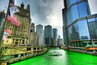 Chicago on St Pats