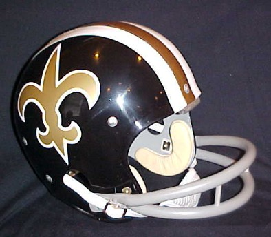 1969 Saints helmet