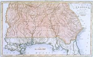 GA 1796 map