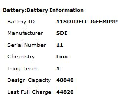Battery Information