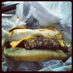 World's best hamburger