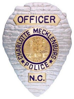 CMPD Officer Badge