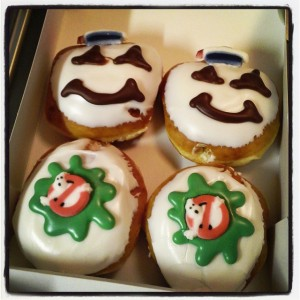 I ain't afraid of no Krispy Kremes!