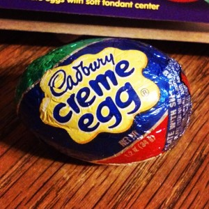 The saddest part of Spring: the last Cadbury Creme Egg.