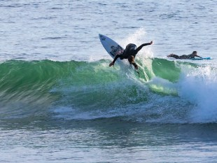 Surf Photography - Surfer's Beach Launch