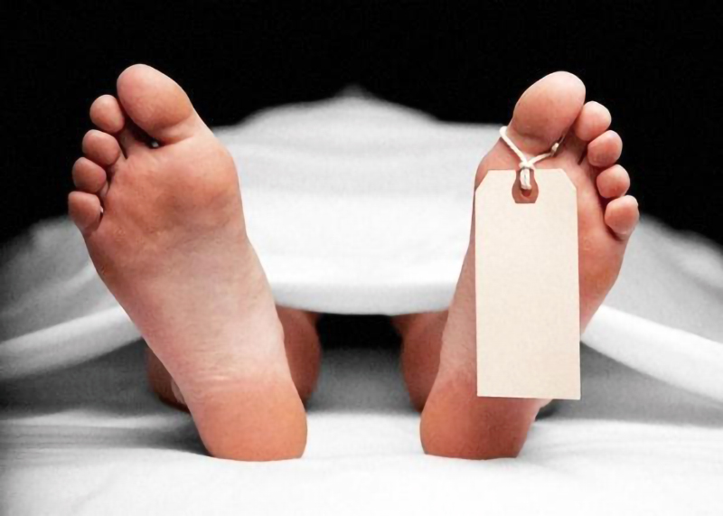 Body in mortuary