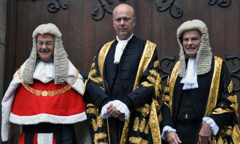 Chris Grayling, Injustice Minister