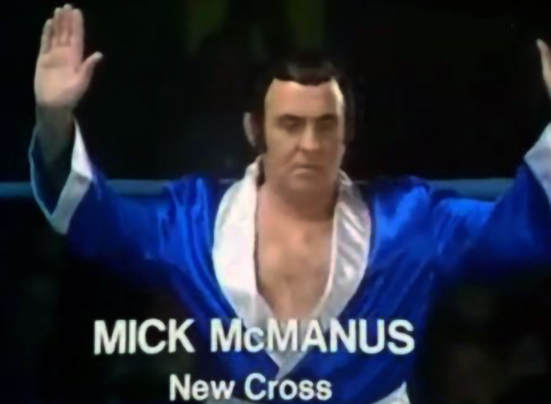 Mick McManus New Cross