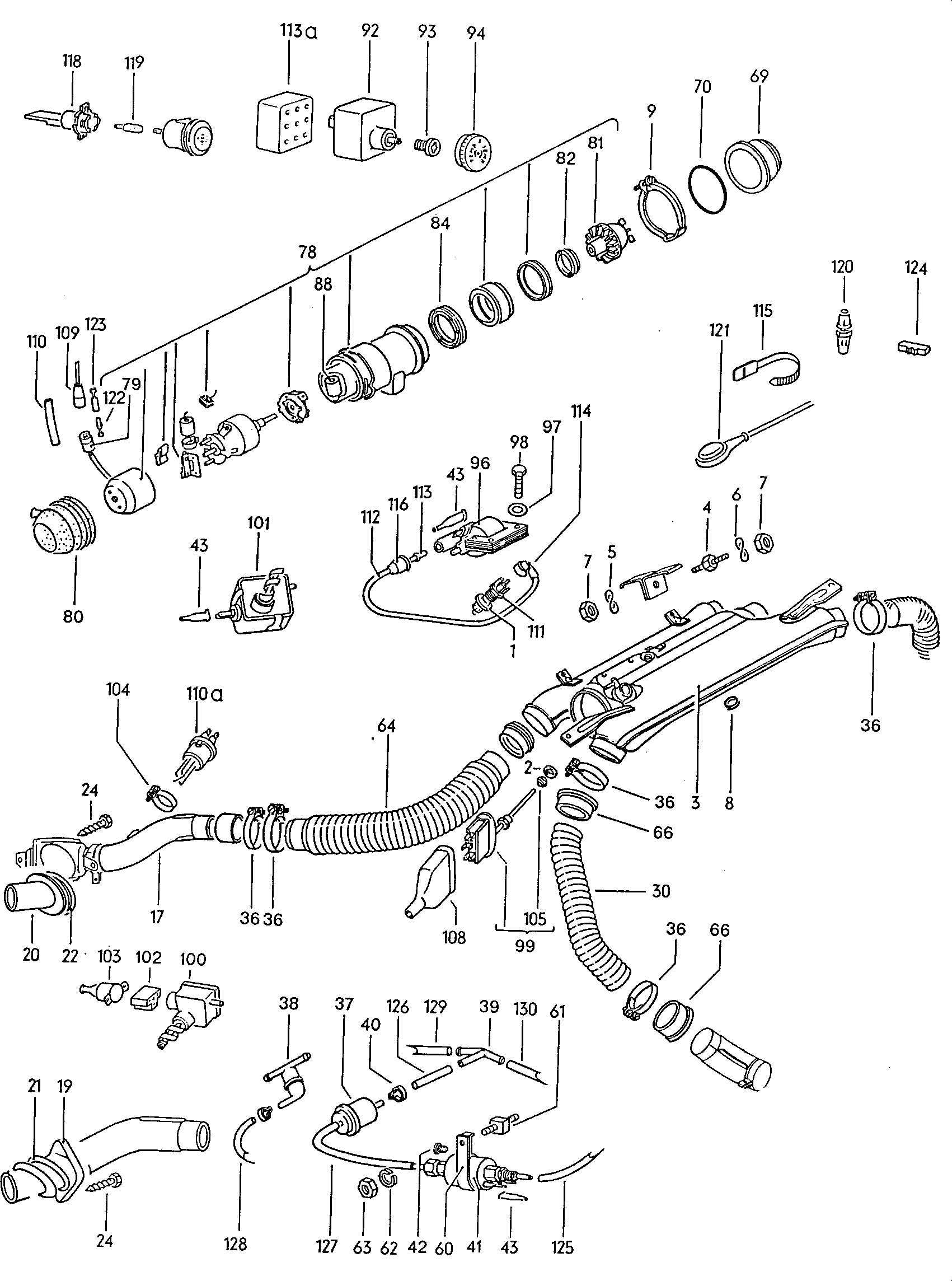 Volkswagen Type 4 Stationary Heater See Illustration