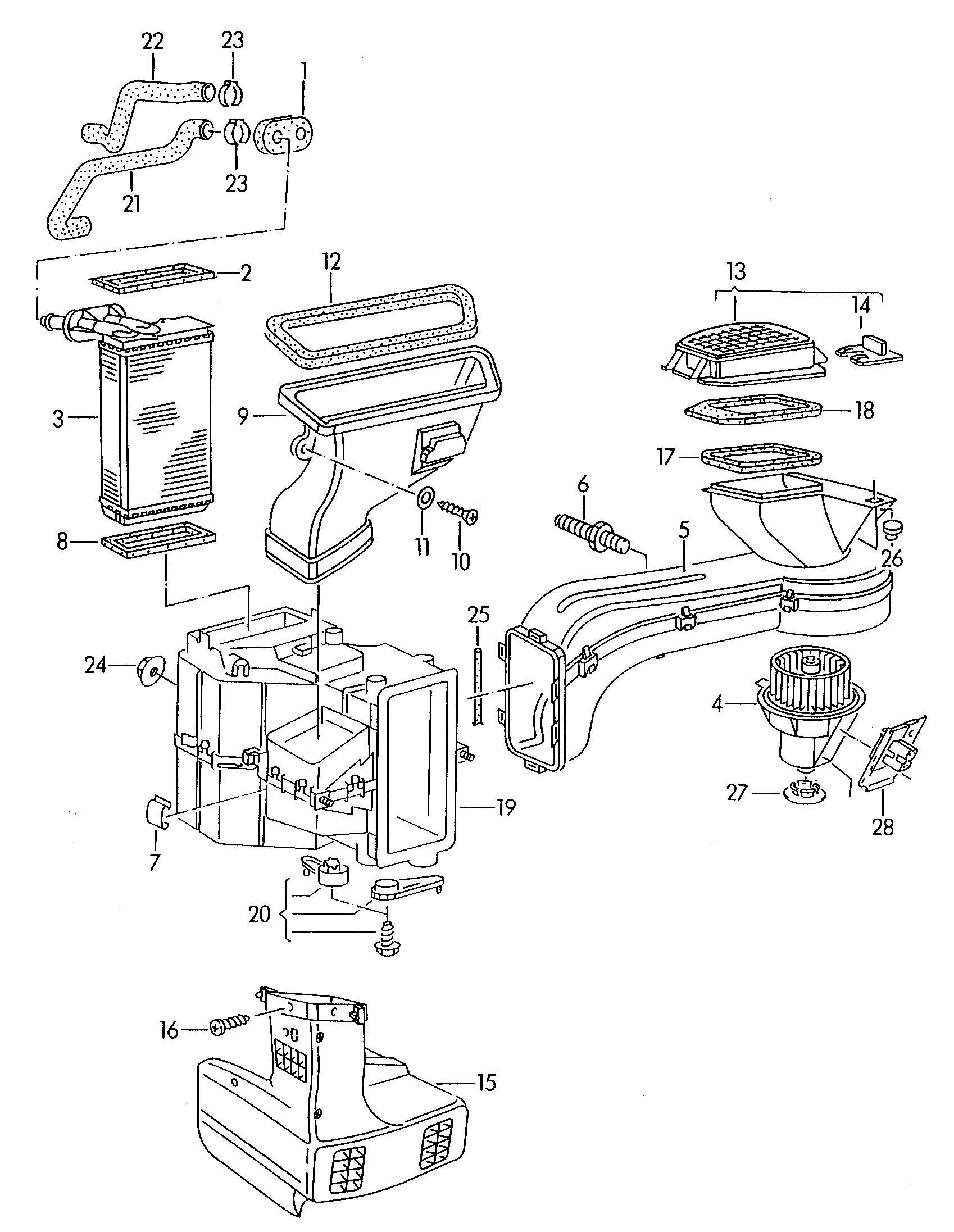 Service Manual Heater Coil Volkswagen Corrado How To