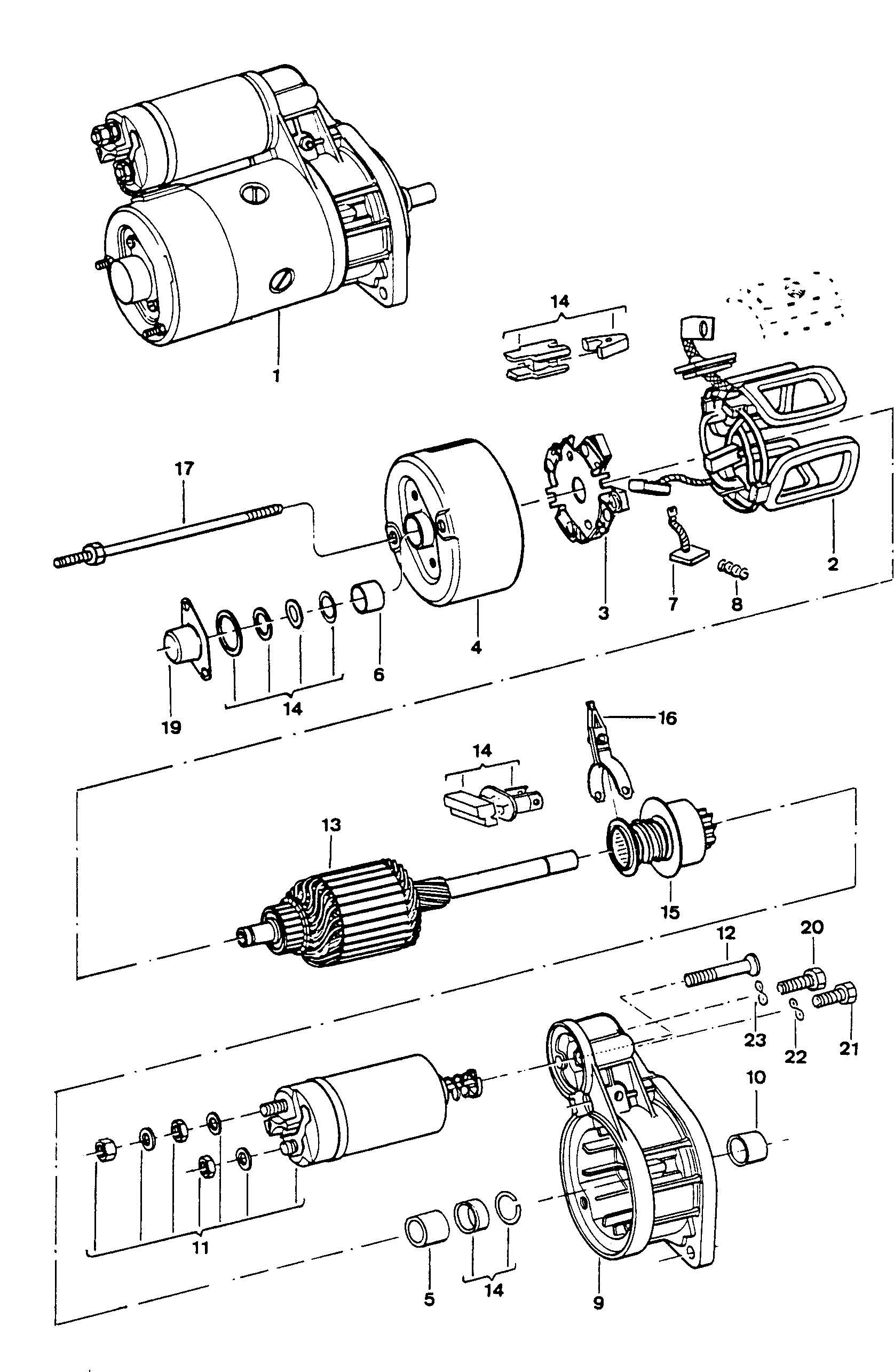 Volkswagen Fox 1 8l Starter