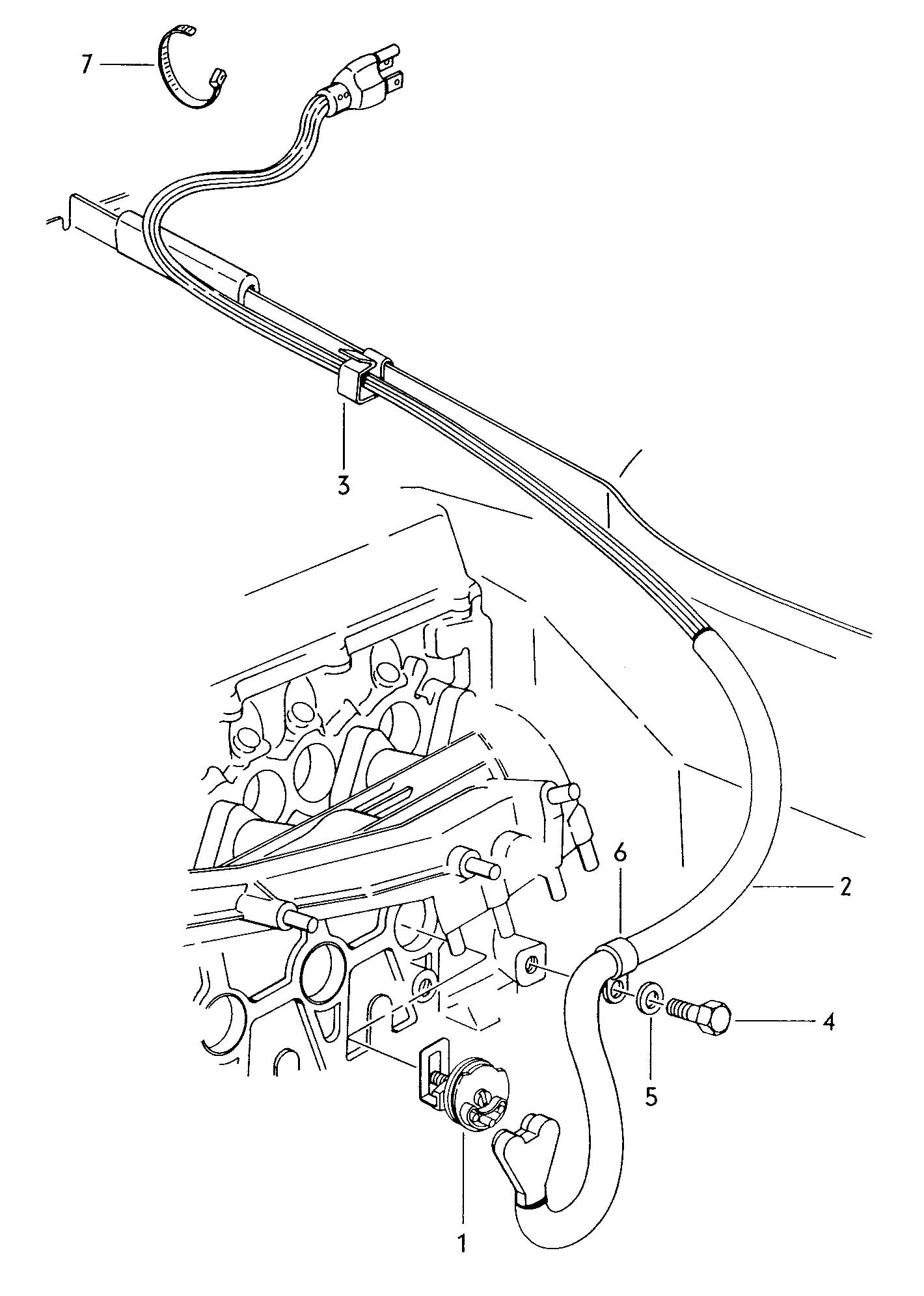 Volkswagen Rabbit Engine Block Heater